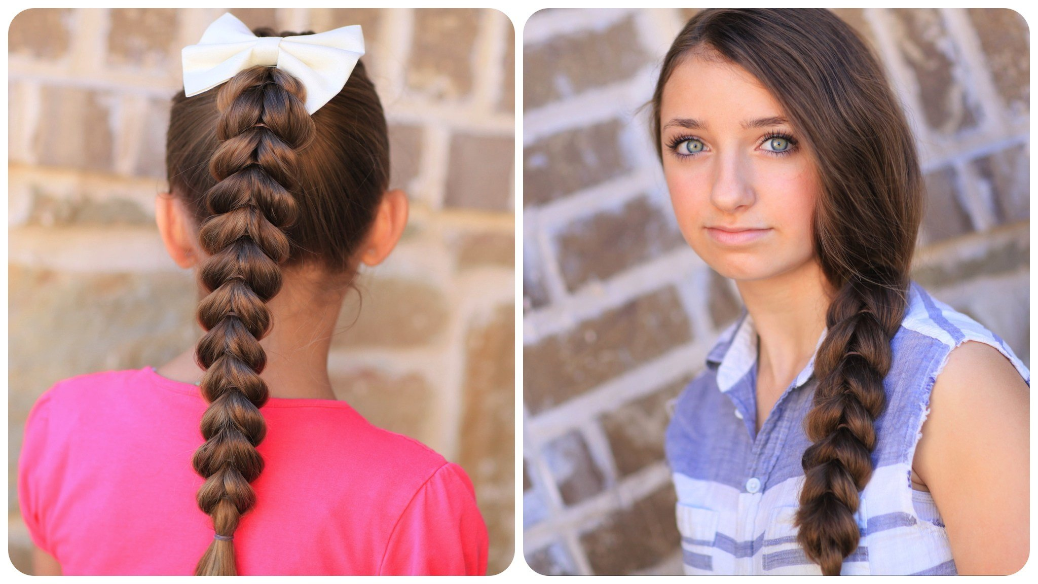New Pull Through Braid Easy Hairstyles Cute Girls Hairstyles Ideas With Pictures