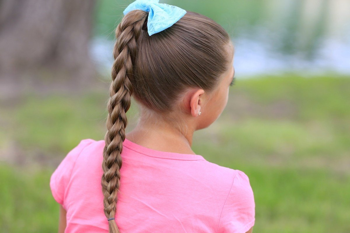 New 3D Split Braid Three Different Looks Cute Girls Hairstyles Ideas With Pictures