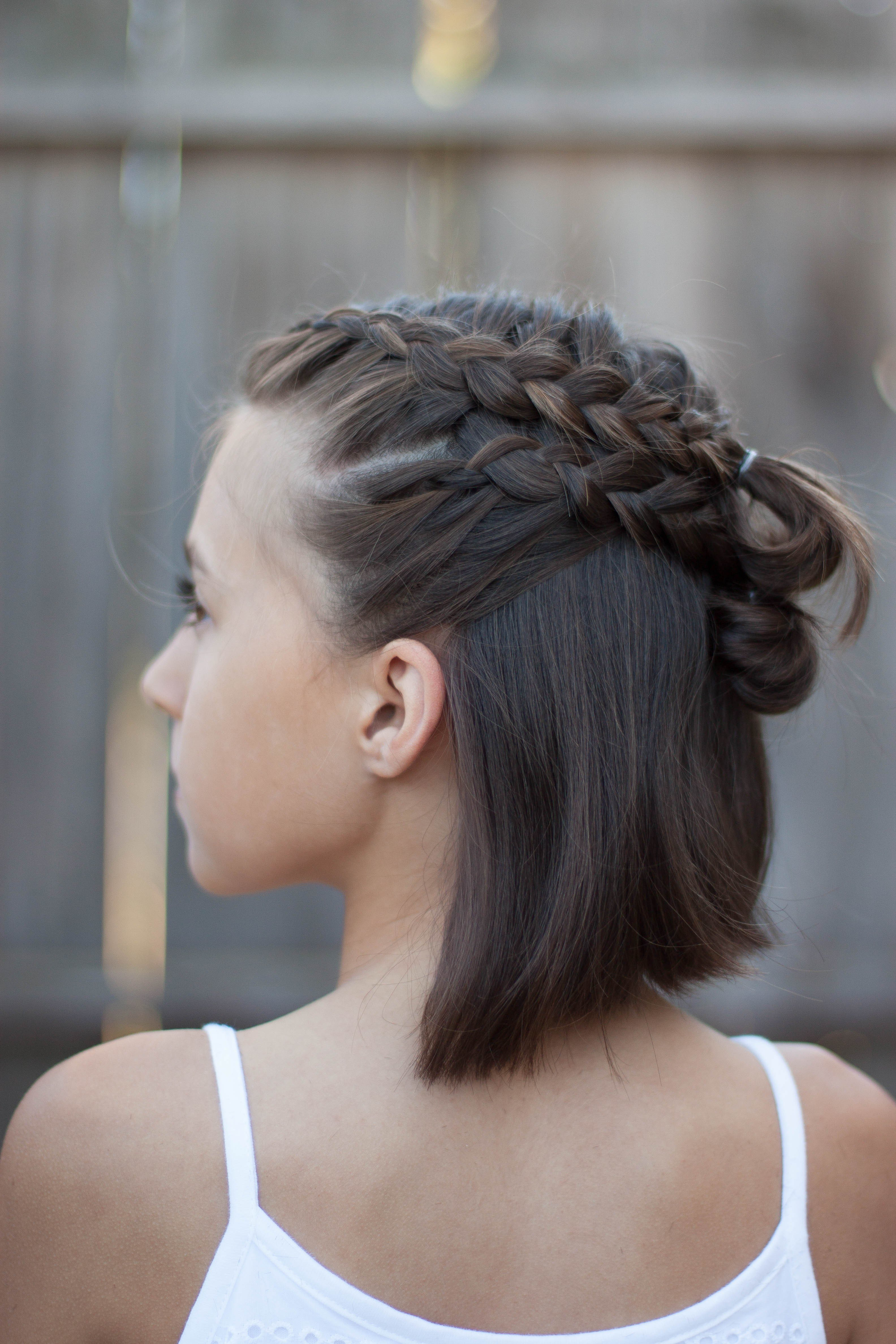 New Short Cute Hairstyles For Girls Ideas With Pictures ...