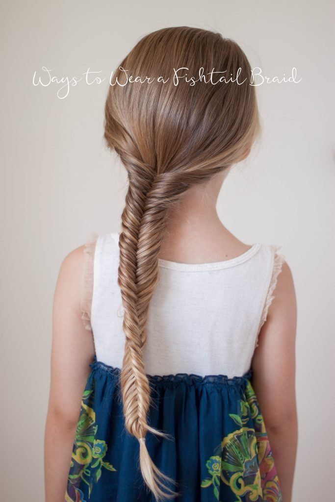 New Ways To Wear A Fishtail Braid Cute Girls Hairstyles Ideas With Pictures