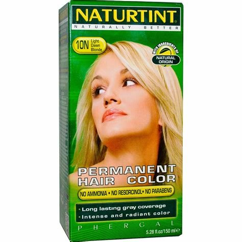 New Naturtint Permanent Hair Color 10N Light Dawn Blonde 5 Ideas With Pictures
