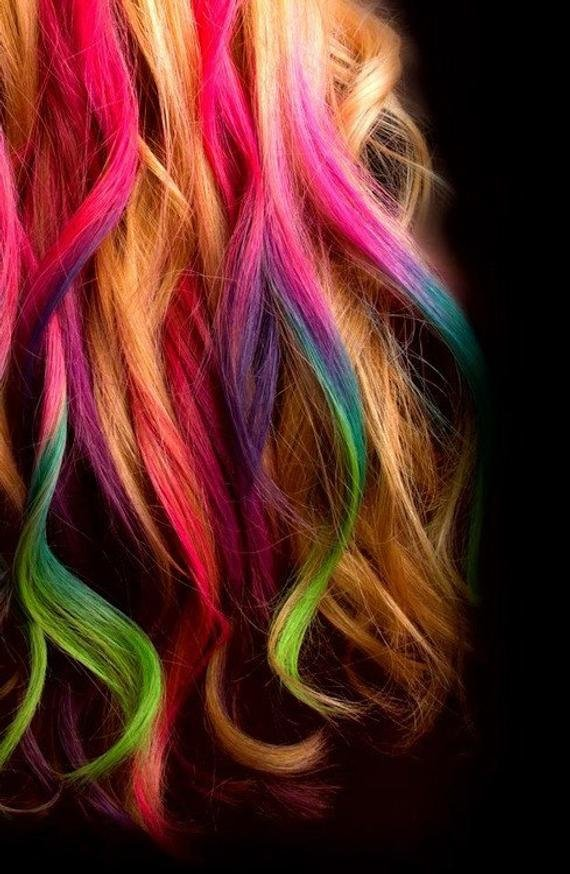 New Items Similar To Hair Chalk Temporary Color For Your Hair Ideas With Pictures