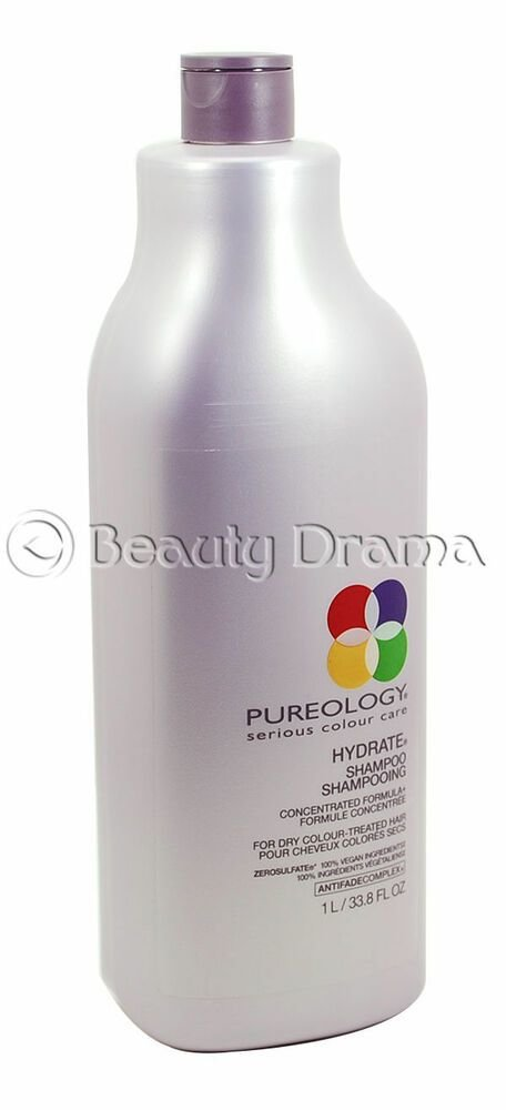 New Pureology Hydrate Shampoo For Dry Color Treated Hair Ideas With Pictures