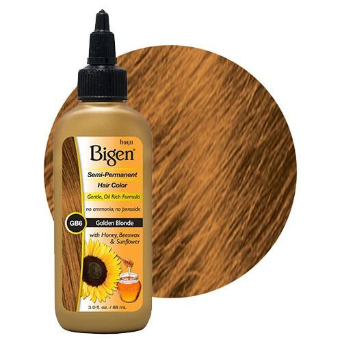 New Bigen Semi Permanent Hair Color 88Ml Golden Blonde Gb6 Ebay Ideas With Pictures