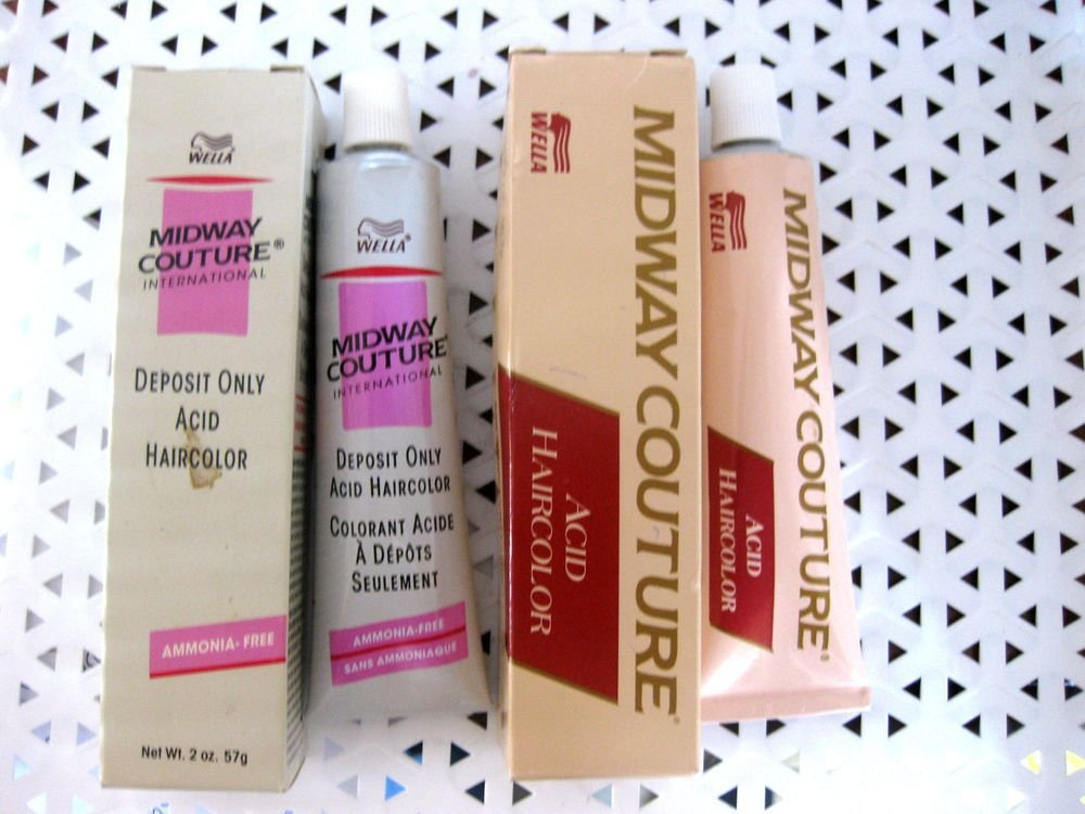 New Wella Midway Couture Deposit Only Acid Haircolor Your Ideas With Pictures