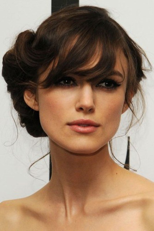 New Picture Of Chic And Pretty Wedding Hairstyles With Bangs Ideas With Pictures