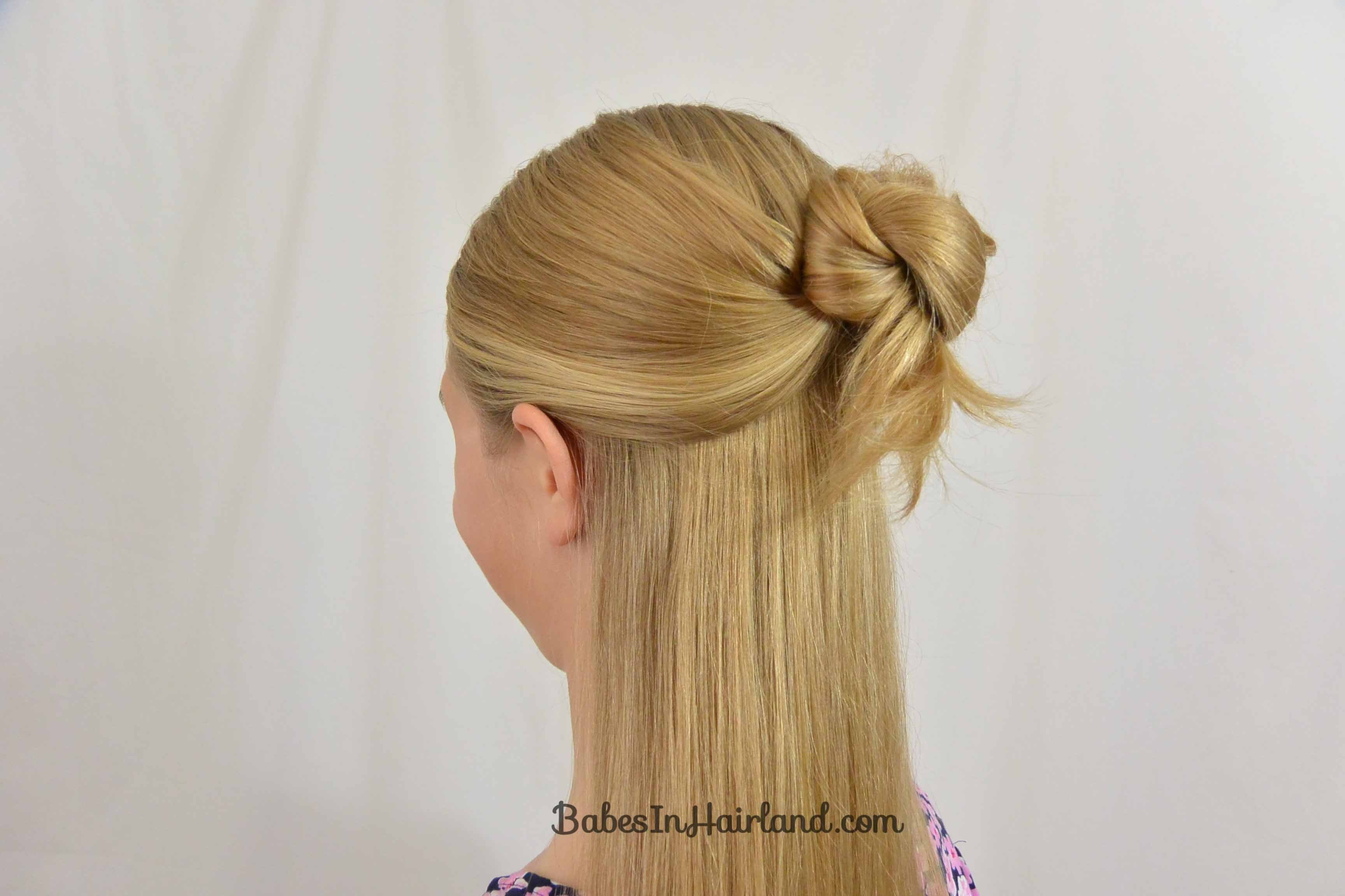 New Easy 1 Minute Knotted Hairstyle B*B*S In Hairland Ideas With Pictures