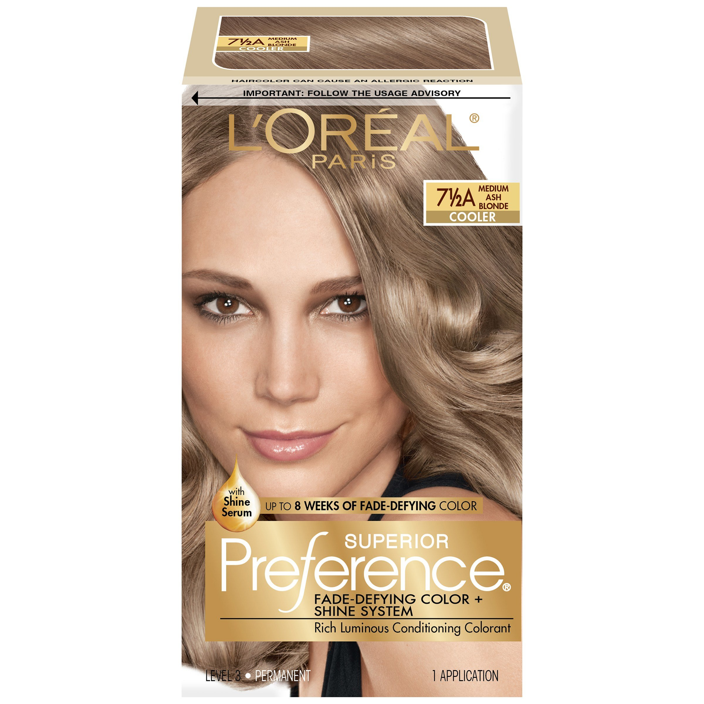 New L Oreal 7 1 2A Cooler Medium Ash Blonde Hair Color 1 Kt Ideas With Pictures