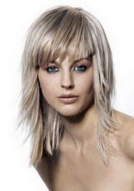 New Medium Layered Hairstyles For Fine Hair Ideas With Pictures
