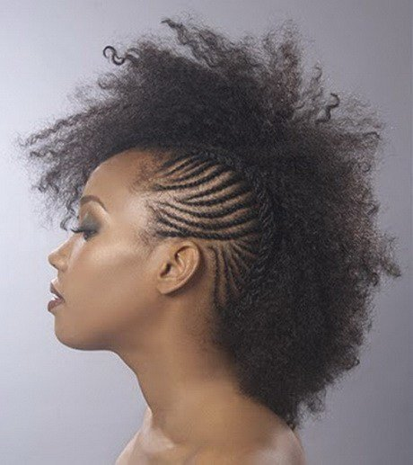 New Mohawk Braided Hairstyles For Black Women Ideas With Pictures