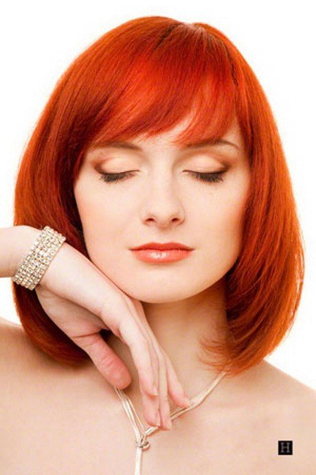 New Red Medium Length Hairstyles Ideas With Pictures