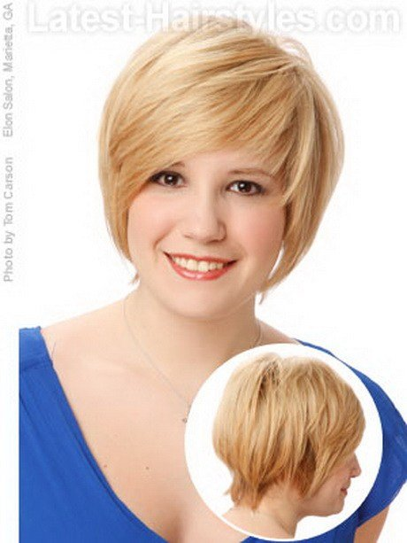 New Short Hairstyles For Thin Hair And Round Face Ideas With Pictures