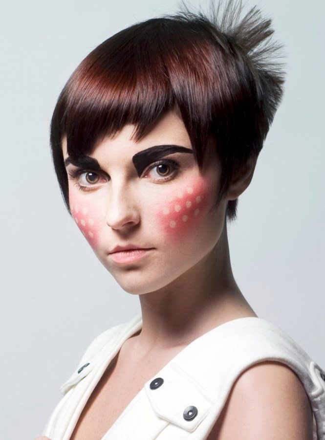 New High Fashion Short Haircuts Ideas With Pictures