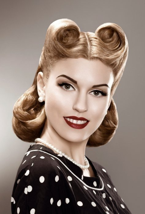 New 50S Hairstyles Short Pin Up Hairstyles Ideas With Pictures