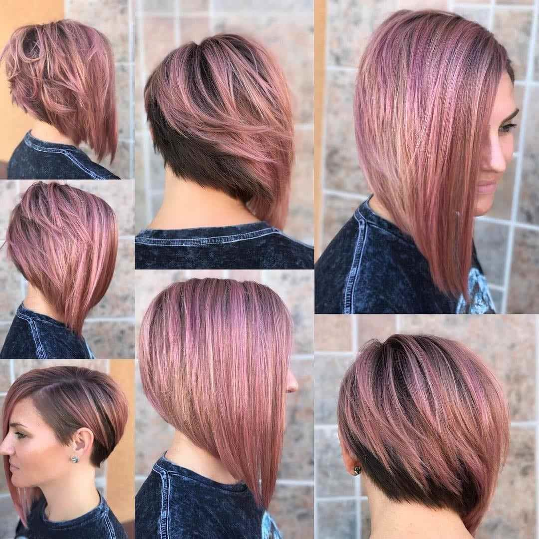 New 50 Adorable Asymmetrical Bob Hairstyles 2019 – Hottest Bob Ideas With Pictures