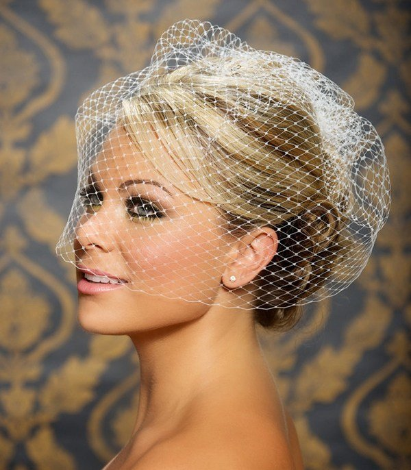 New Hairstyles For The Birdcage Veils Weddingelation Ideas With Pictures