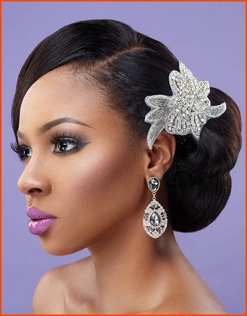 New 5 Tremendous Natural Wavy Wedding Hairstyles For Black Ideas With Pictures