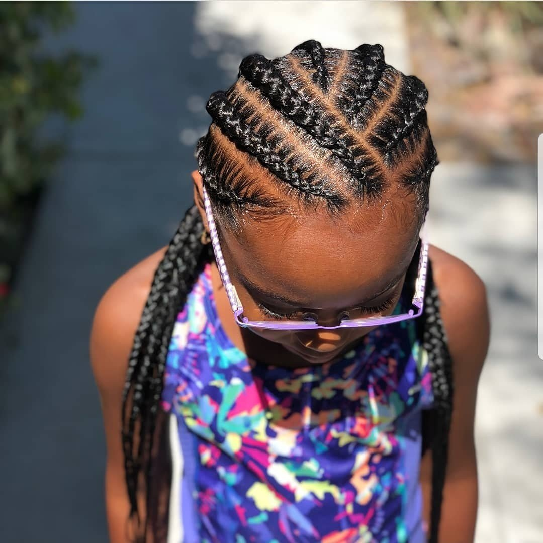 New Braided Hairstyles For Kids 43 Hairstyles For Black Girls Ideas With Pictures