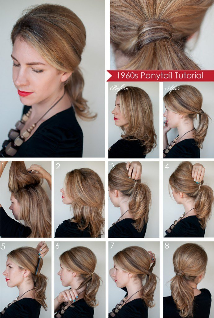 New 15 Cute And Easy Ponytails Ideas With Pictures