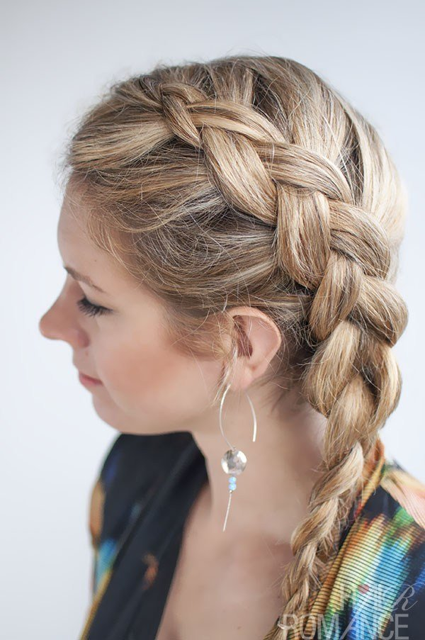 New Dutch Side Braid Hairstyle Tutorial Hair Romance Ideas With Pictures