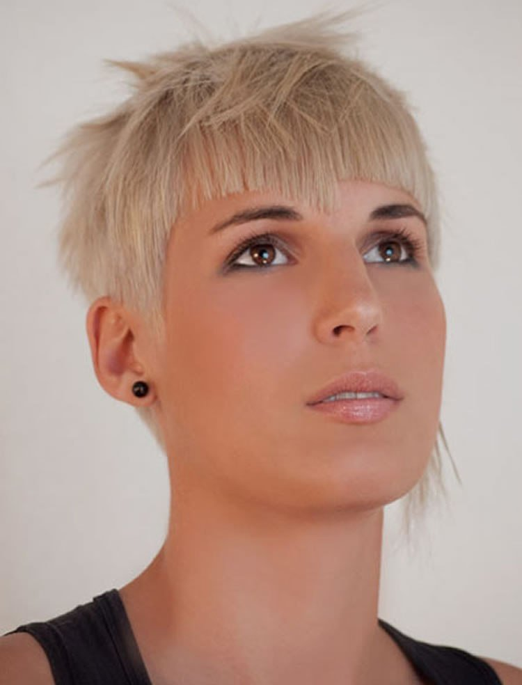 New Trendy Short Pixie Haircuts For Women 2018 2019 – Page 5 Ideas With Pictures