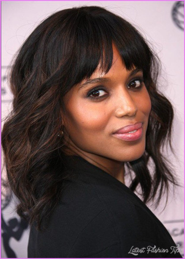 New Medium Haircuts African American Hair Latestfashiontips Com Ideas With Pictures