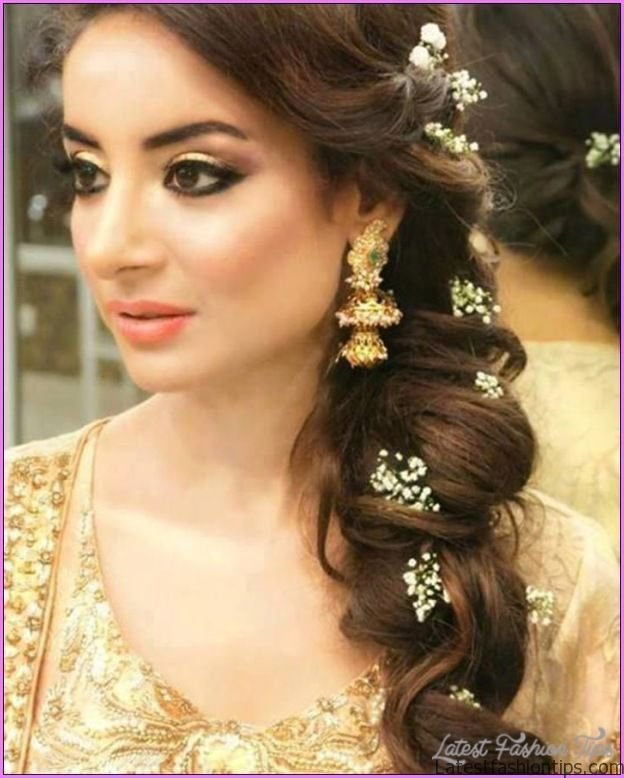 New Bridal Hairstyles Hindu Marriage Latestfashiontips Com Ideas With Pictures