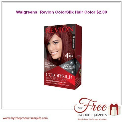 New Walgreens Revlon Colorsilk Hair Color 2 00 Ideas With Pictures
