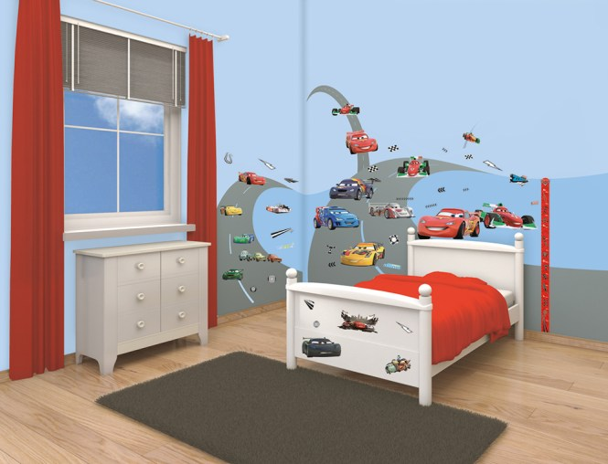 Spiderman Bedroom Decor Wall Decorating Kit 1jpg