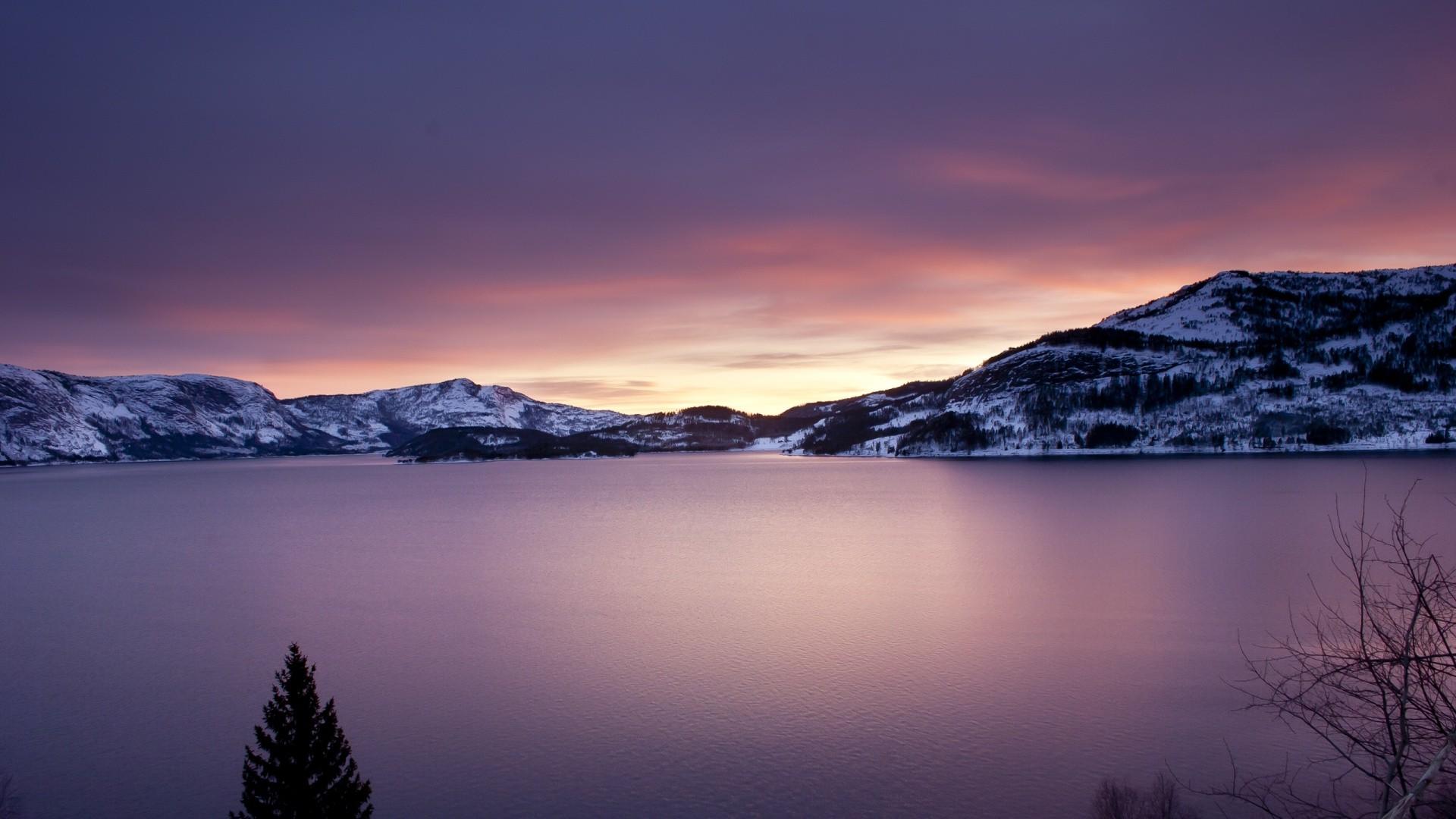 Black · aesthetic · balck; nature, Lake, Sunrise, Mountain Wallpapers HD / Desktop