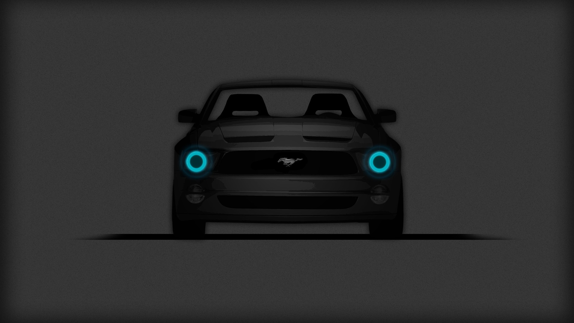 Ford Mustang Ford Mustang GT Car Minimalism Muscle