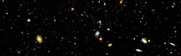 Hubble Deep Field, Space, Galaxy, Multiple Display ...