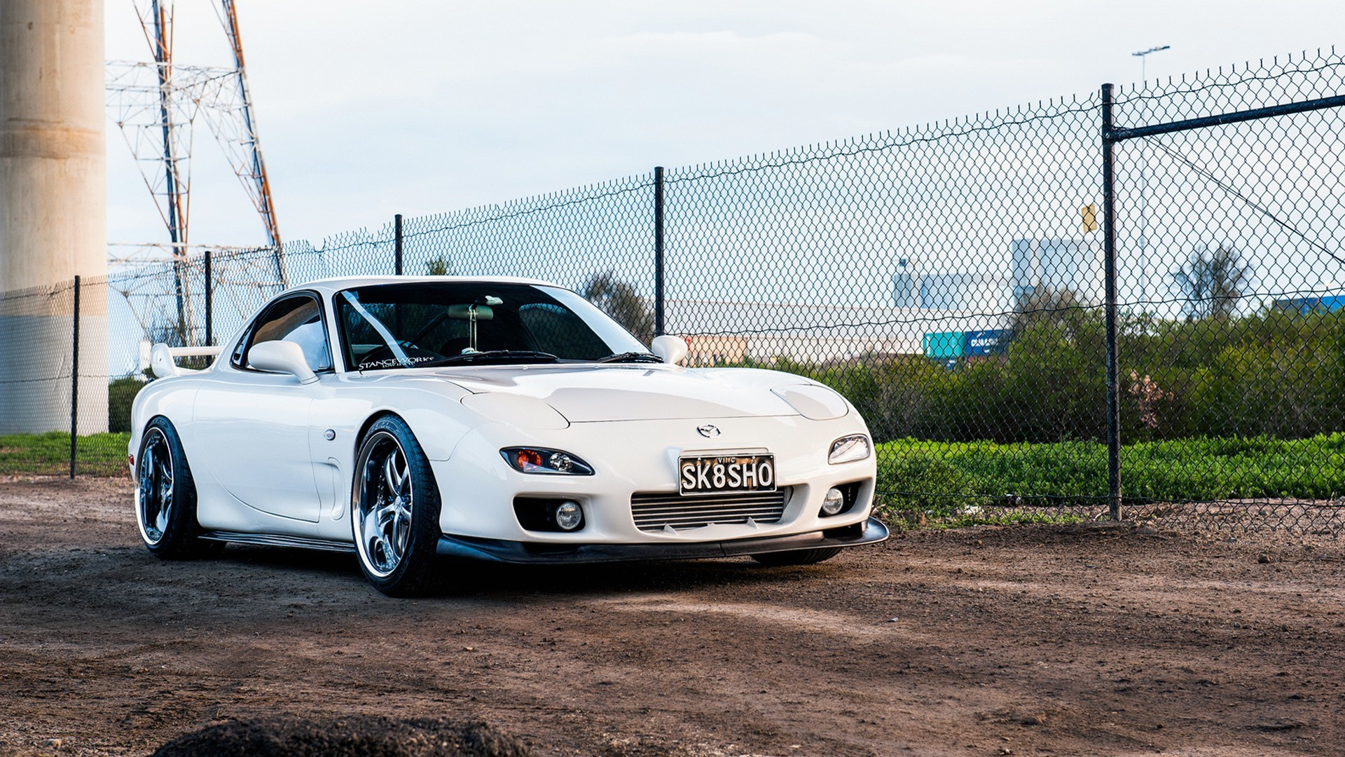 Mazda RX 7 Car Tuning Wallpapers HD Desktop And Mobile