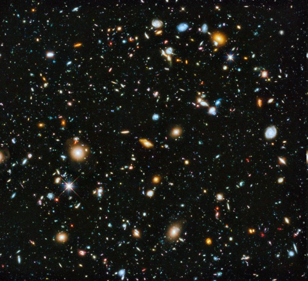 space, Stars, Galaxy, Deep Space, Hubble Deep Field ...