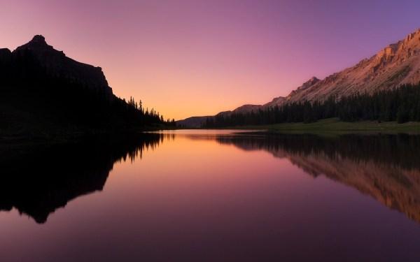 photography Nature Landscape Water Lake Sunset Trees
