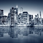 Photography Urban City Night Lights Building Reflection New York City Cityscape Sea Water Wallpapers Hd Desktop And Mobile Backgrounds