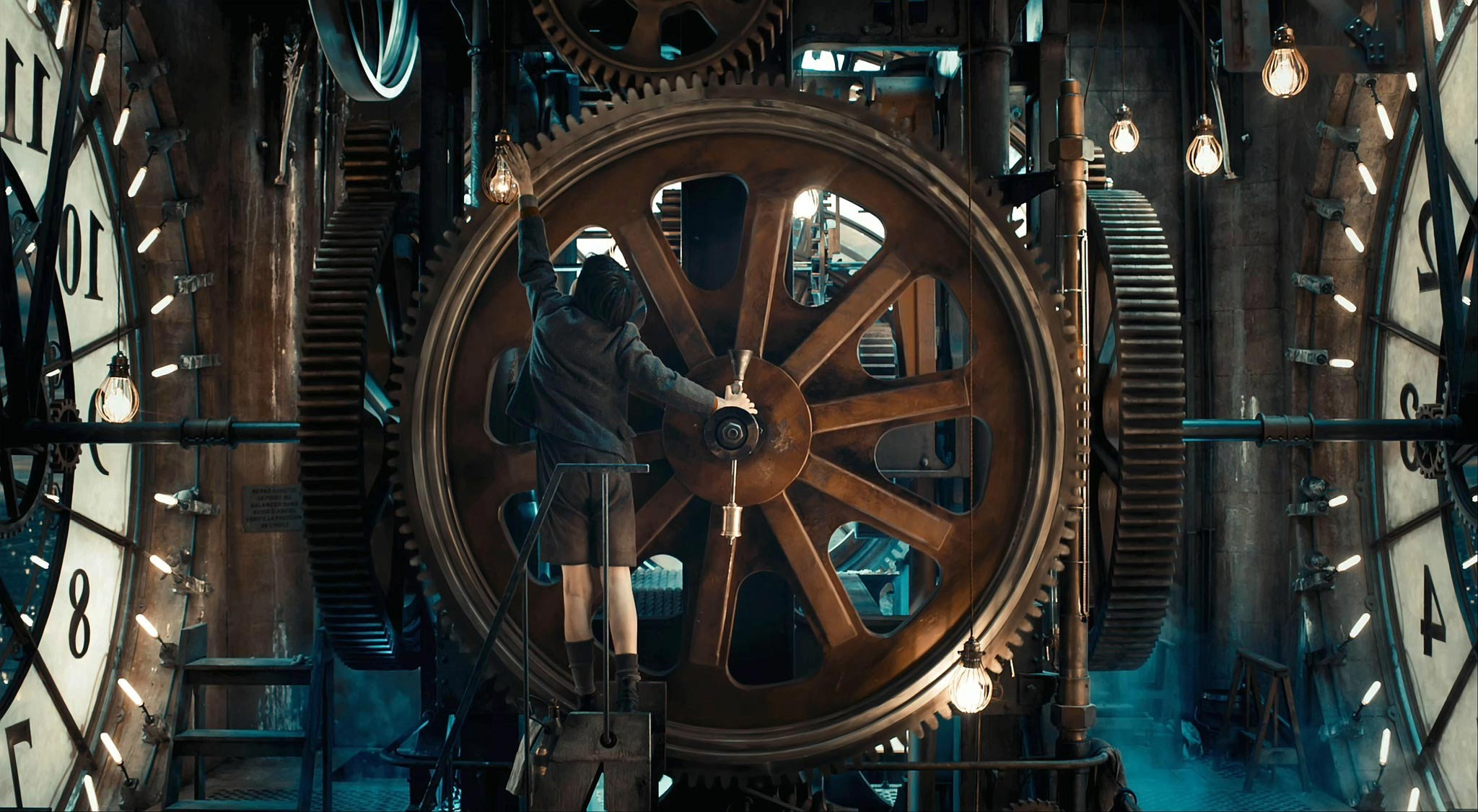 Children Steampunk Gears Metal Movies Hugo Movie