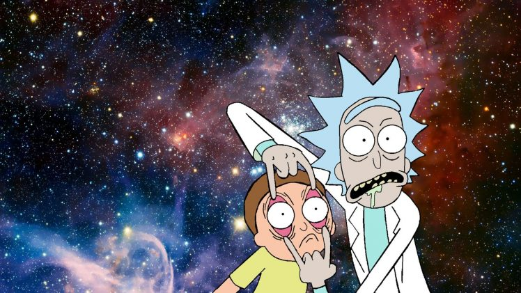 Rick and Morty  Fan art  Humor Wallpapers HD   Desktop and Mobile     Rick and Morty  Fan art  Humor HD Wallpaper Desktop Background