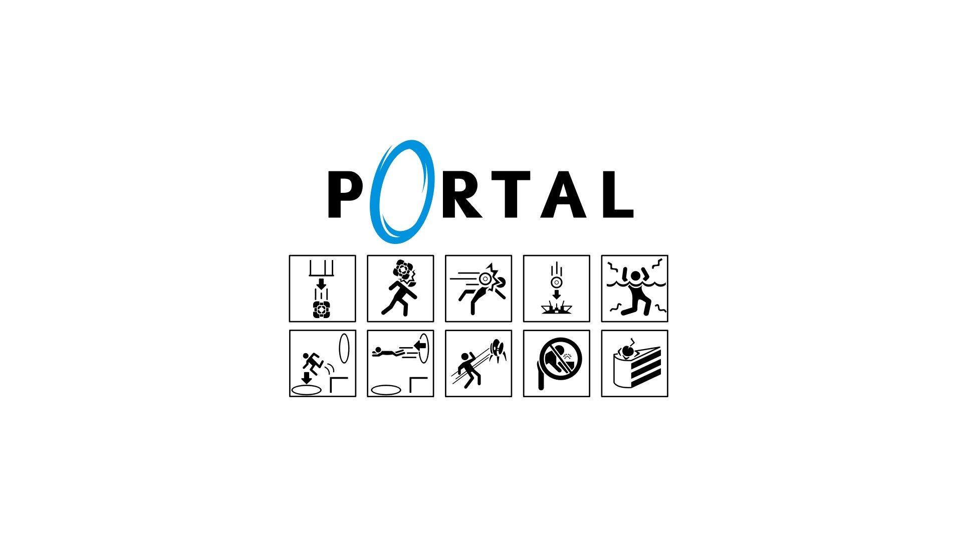 Portal Game Video Games Wallpapers Hd Desktop And