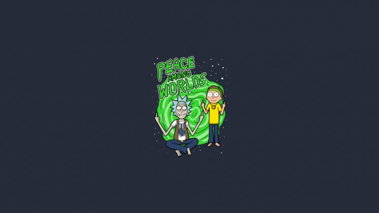 Rick Sanchez  Morty Smith  Tv series  Rick and Morty Wallpapers HD     Rick Sanchez  Morty Smith  Tv series  Rick and Morty HD Wallpaper Desktop  Background
