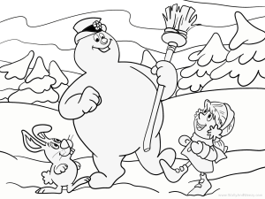 frosty-the-snowman-coloring