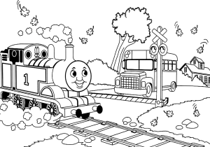 Thomas-and-Friends-School-Bus-coloring-page