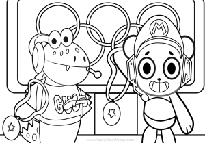Pin on Cartoon Coloring Pages | 209x300