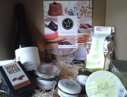 Die Foodist-Box im Juni