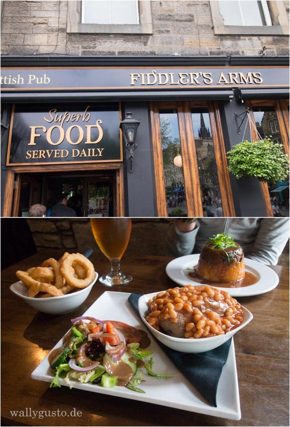 Fiddler's Arms Edinburgh