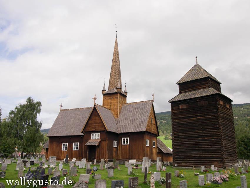 Norwegen Vägä Stabkirche