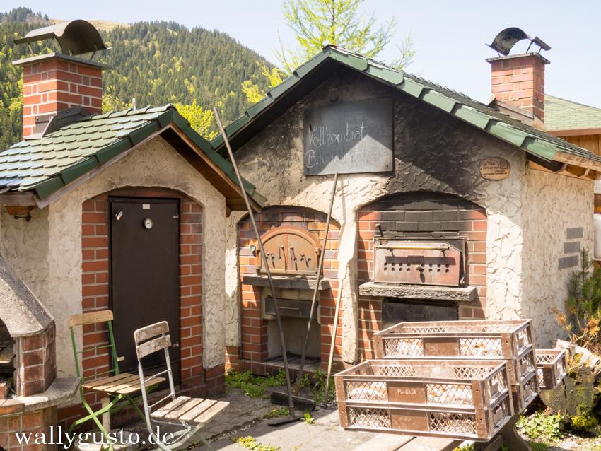 Albert Link Hütte Backhaus