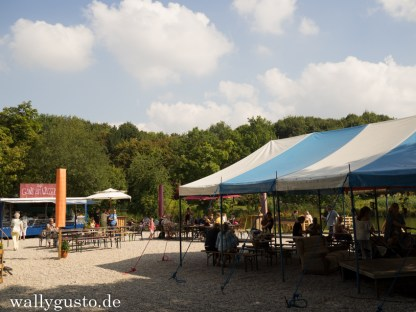 Cafe Gans am See - das PopUp-Café im Münchner Westpark