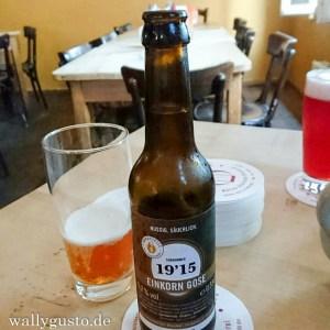 Craft Beer trinken in der Braustelle Braustelle