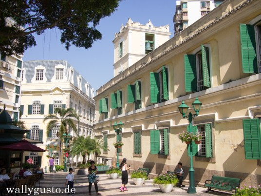 Mediterranes Flair auf Macau